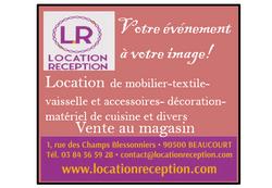 Location Réception
