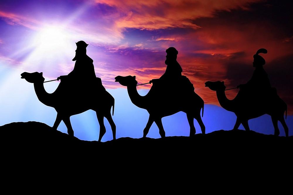Heilige Drei Könige (Bild von kalhh auf pixabay)