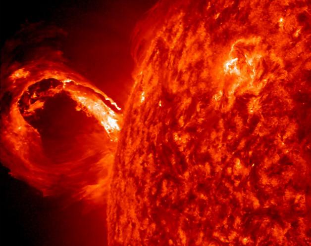 Sonnensturm (Foto: NASA)