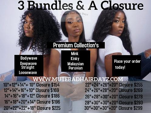 3 Bundles & A Closure