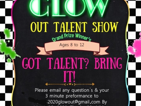 DMV if your child (8-12) has talent send a short video to 2020glowout@gmail.com #talentshow