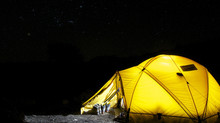 Camping in Rainy Weather