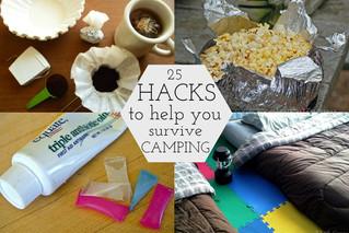 25 Camping Hacks