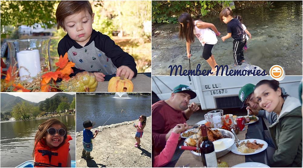 Family trip to mountain lakes