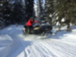 экскурсии на снегоходах