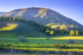 хребет горы Камза