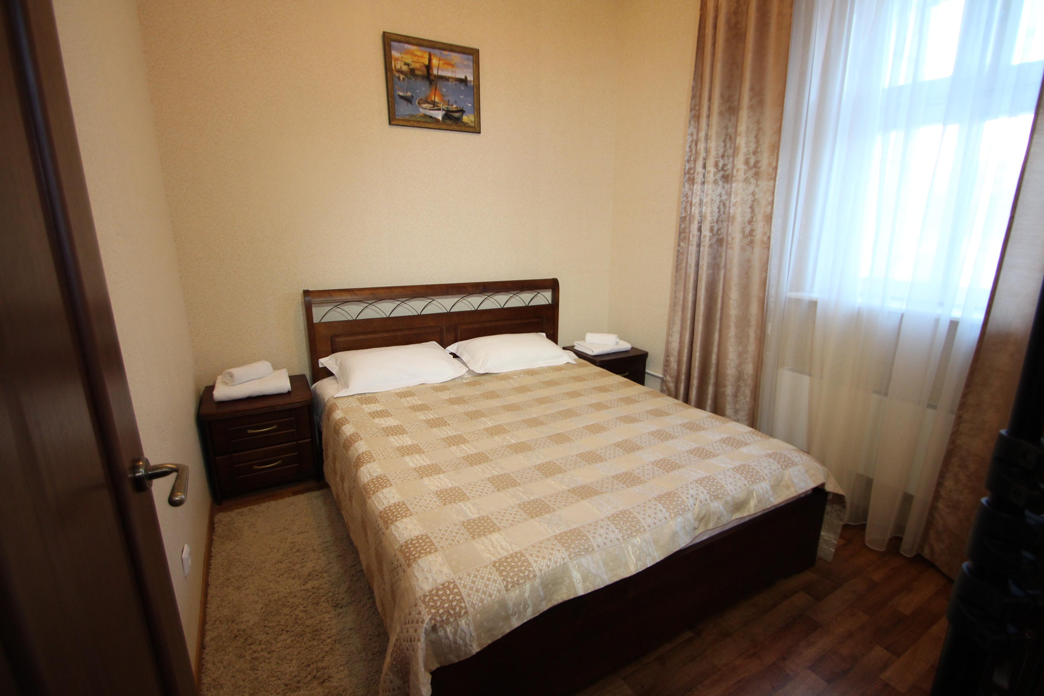 2х комнатная квартира №7, спальня