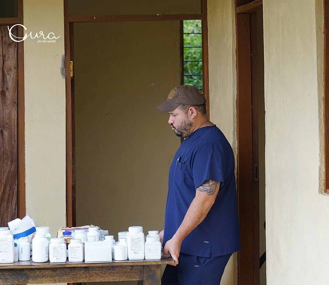 Cura team stocks the medical facility with 12 months of medicines