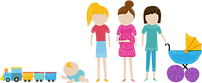 Caregiver and Baby Group Toddler Group Storytime Mommy and Me