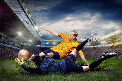 Whats wrong with a slide tackle?