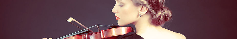 Female Violin Studen