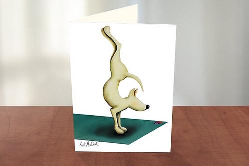 Yoga Dog Handstand (KM)