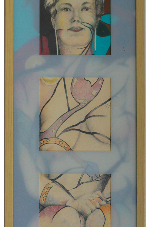 Kabuki Lady (Brenda Thomas)