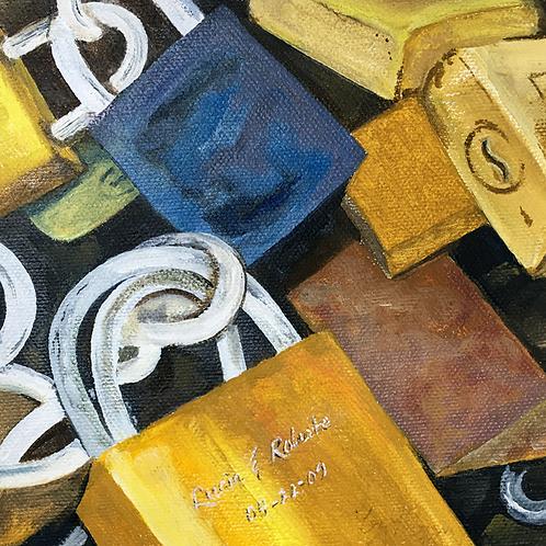 Locks on the Ponte Vecchia (Brenda Thomas)
