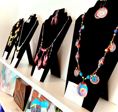 Polymer Clay Jewelry by Lyrae Perry