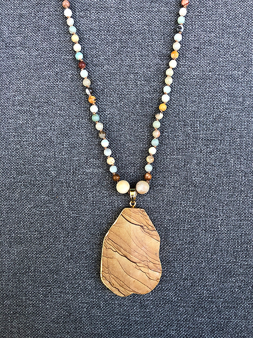 Amazonite and Sandstone