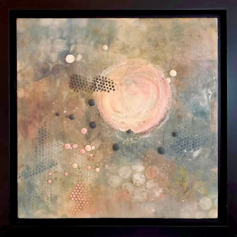 """Pink Moon"" by Brenda Thomas"