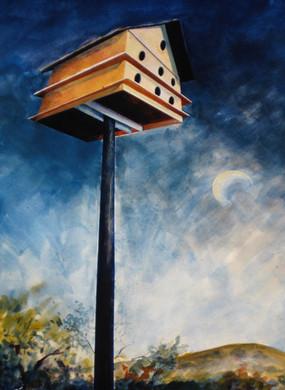 """Morning Moon Junction"" by Brenda Thomas"