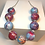 Thumbnail: Painted Bead Necklace
