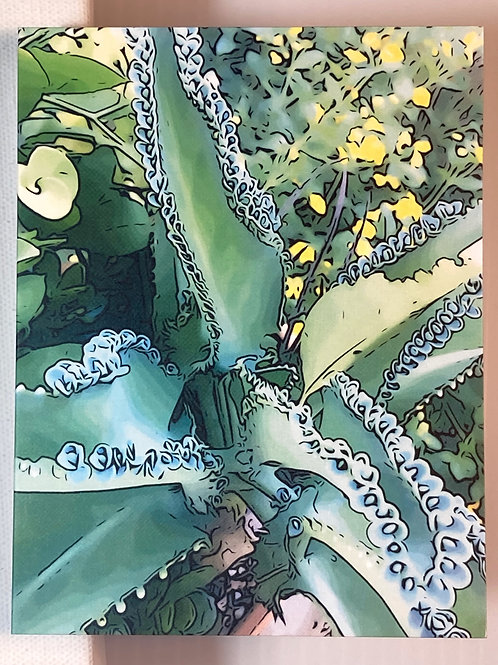 Greeting Card - Cactus in Cali