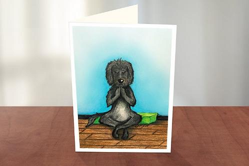 Namaste / Yoga Dog (KM)