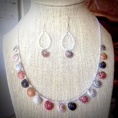 Tiny Shells necklace by Amy Harper