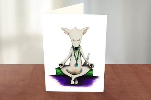 Let's Meditate Yoga Dog (KM)