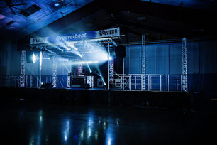 Reeverb Entertainment NYE Stage
