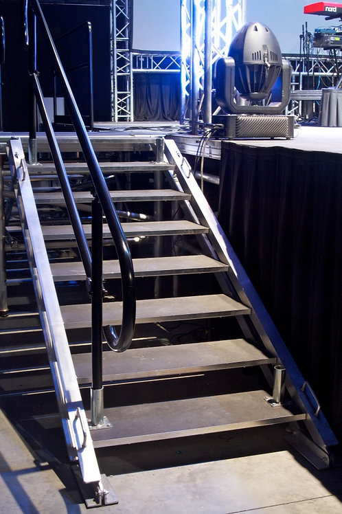 Staging concepts 7 rung stairs