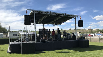Small Stage Rental for band in Utah