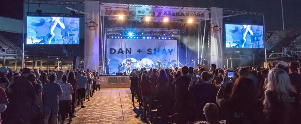 Large Stage Trailer in Salt Lake City, Utah
