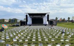 Large Trailer Stage Rental in Utah