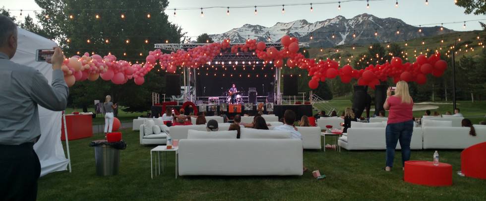 Stage for Private Event