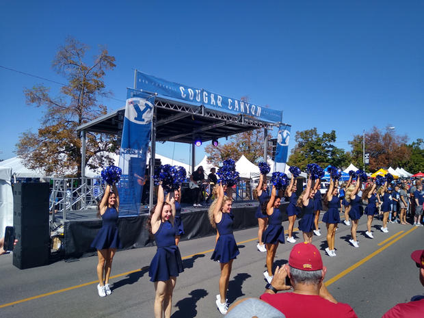 Tailgate Party Staging