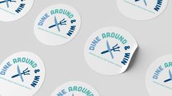 Dine Around and Win Logo