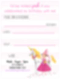 Pinkalicious Birthday Party Free Printable Invitation