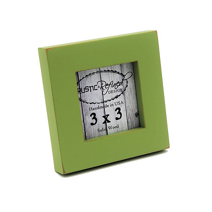 "3x3 1"" Gallery Picture Frame - Green Apple"