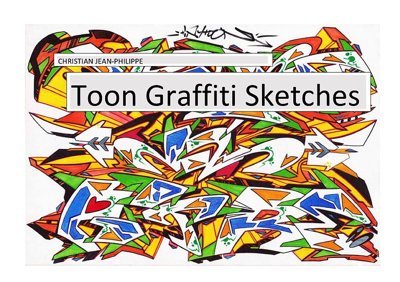 Toon Graffiti Sketches (456 pages)