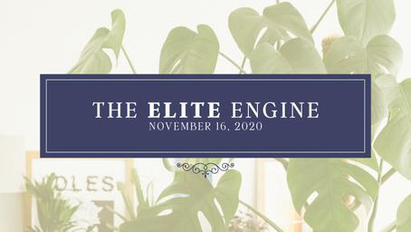 The Elite Engine: November 16 2020