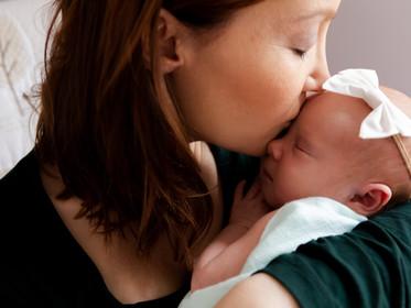 Newborn Session: Maxine + Anthony