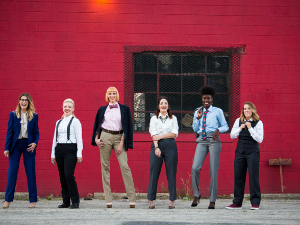 Busy Streets & Lady Bosses: Outlook Magazine Fashion Shoot