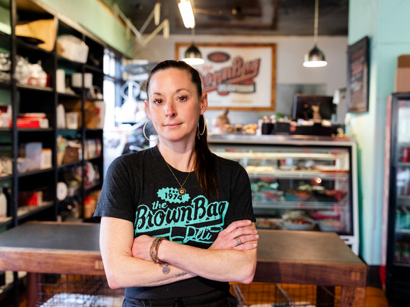 Molly Merkle; 17 YEARS STRONG The Brown Bag Deli
