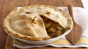 3Apple pie with extra virgin olive oil and vanilla sauce