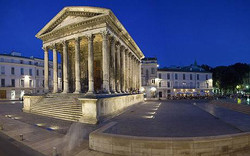 roman temple nimes