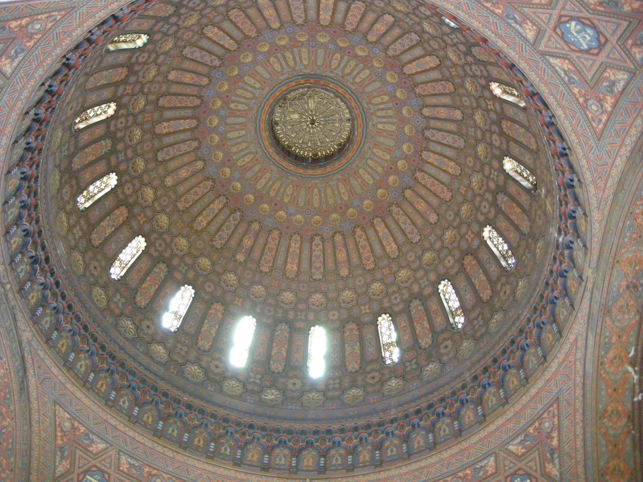 2_Sinagoga_di_firenze,_interno,_cupola_02