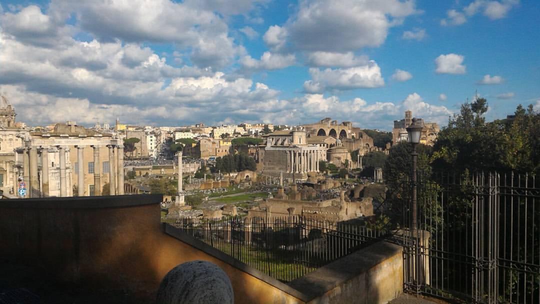 foro romano da palatino