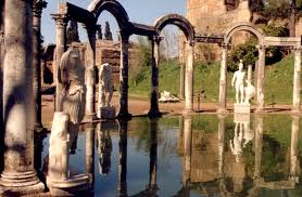 villa adriana - fontane