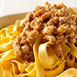 2Tagliatelle with Chianina meat white sauce