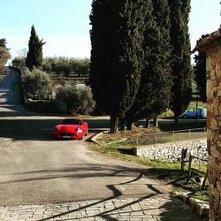 drive IT thru Chianti Classico, Vertine