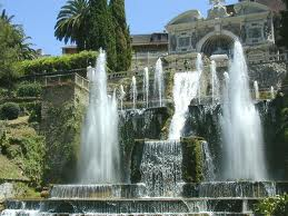 villa d'este - fontane